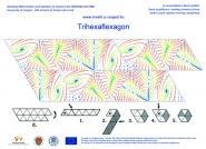 Trihexaflexagon with oscillators