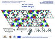 Trihexaflexagon with Sierpinski triangles